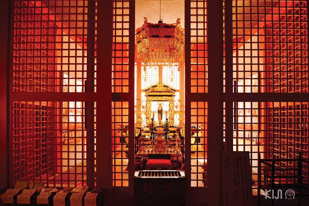 ห้องบูชาของ Water Temple
