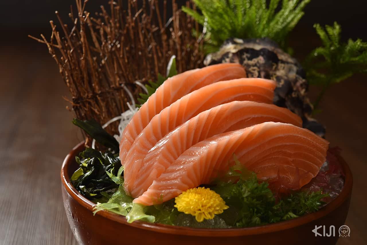 Sushi Seki : Salmon Sashimi XXL แซลมอน ไซส์ใหญ่สุดคุ้ม