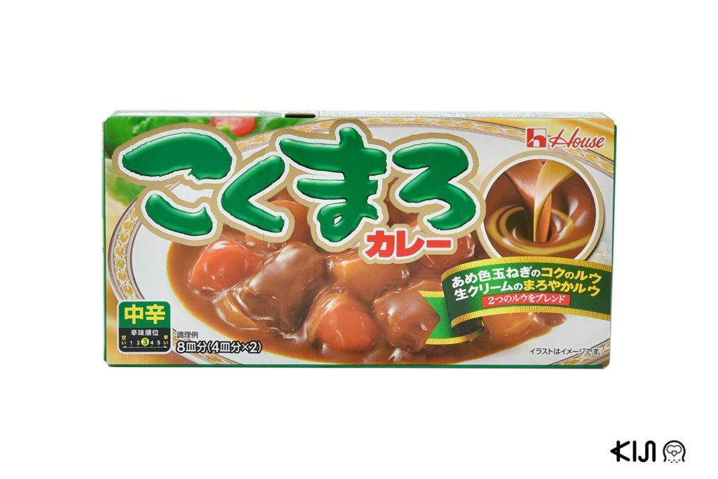 ก้อนแกงกะหรี่ Kokumaro Curry