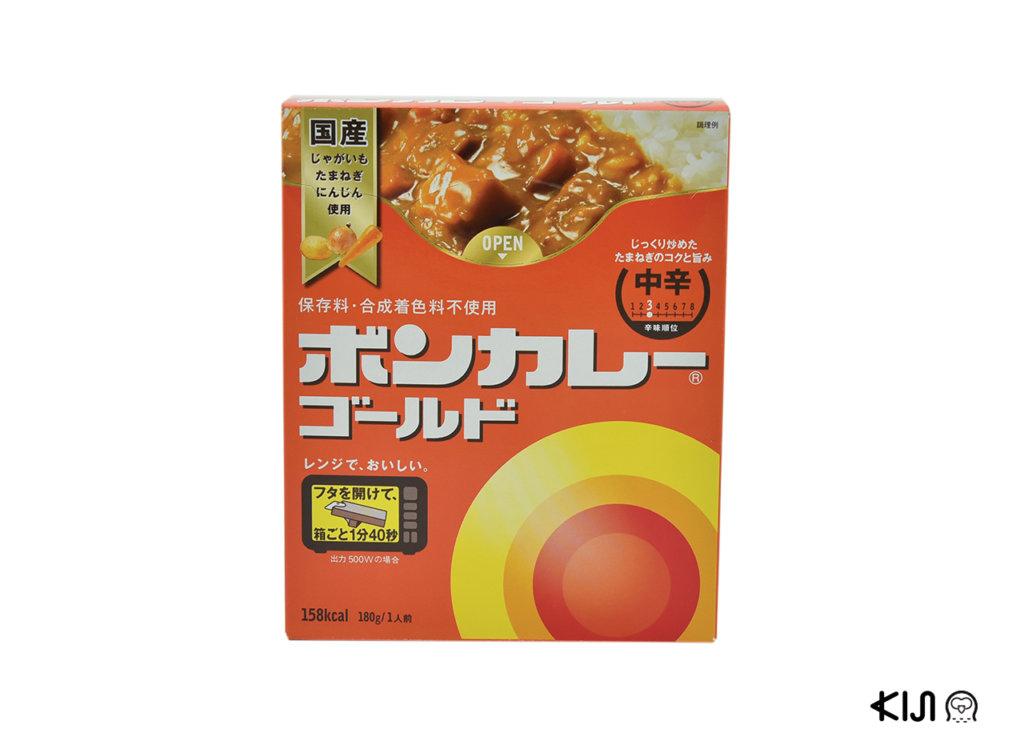 ก้อนแกงกะหรี่ Bon Curry Gold