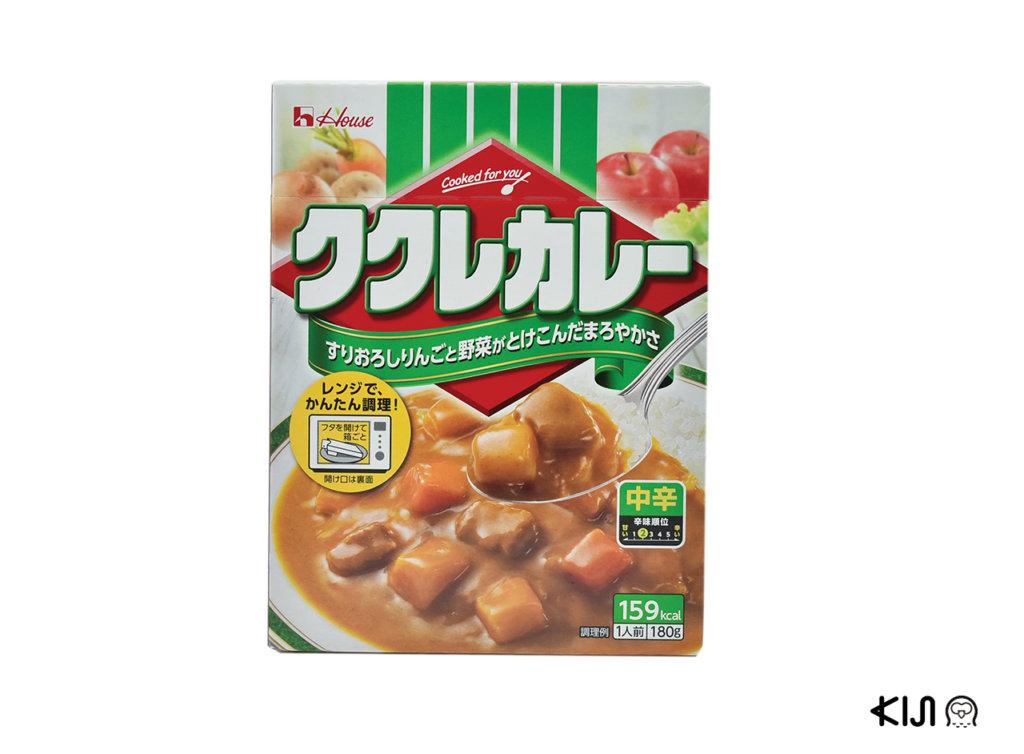 ก้อนแกงกะหรี่ Kukure Curry