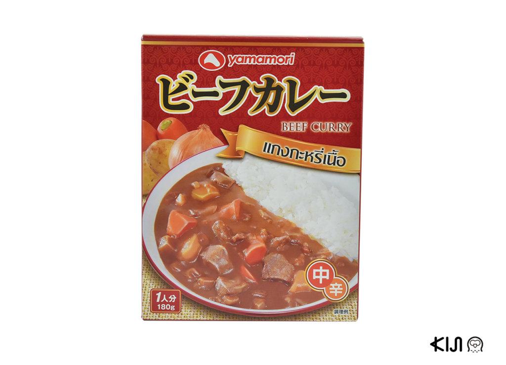 ก้อนแกงกะหรี่ Yamamori Beef Curry