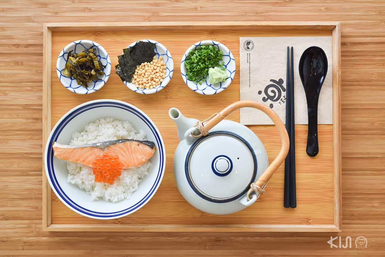 Kyo Cafe & Meal : Salmon Chazuke