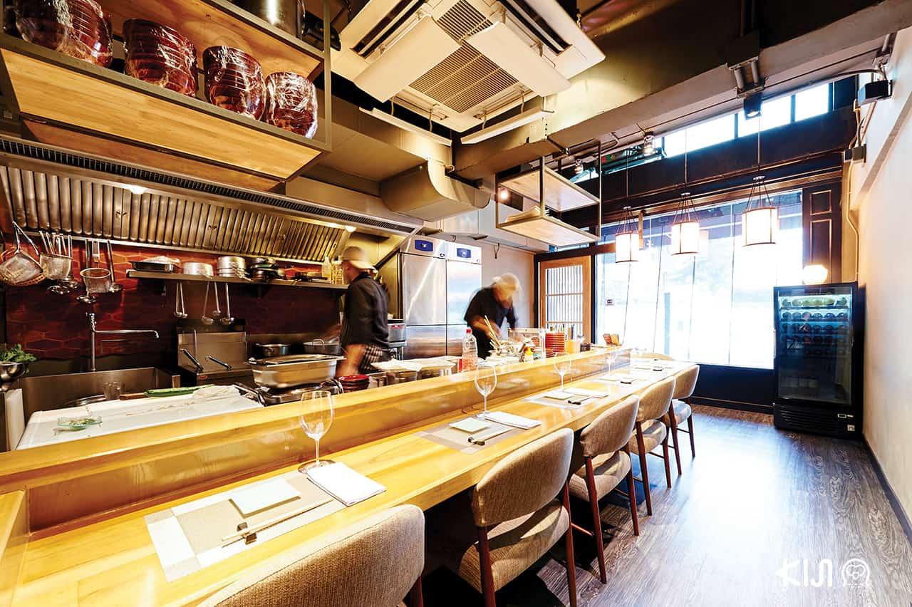 บรรยากาศภายในร้าน Cocoro Japanese Cuisine