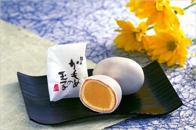 IWATE ขนมไข่นกนางนวล (คาโมเมะโนะทามาโกะ) ของจังหวัดอิวาเตะ(iwate) ภูมิภาคโทโฮคุ(Tohoku)