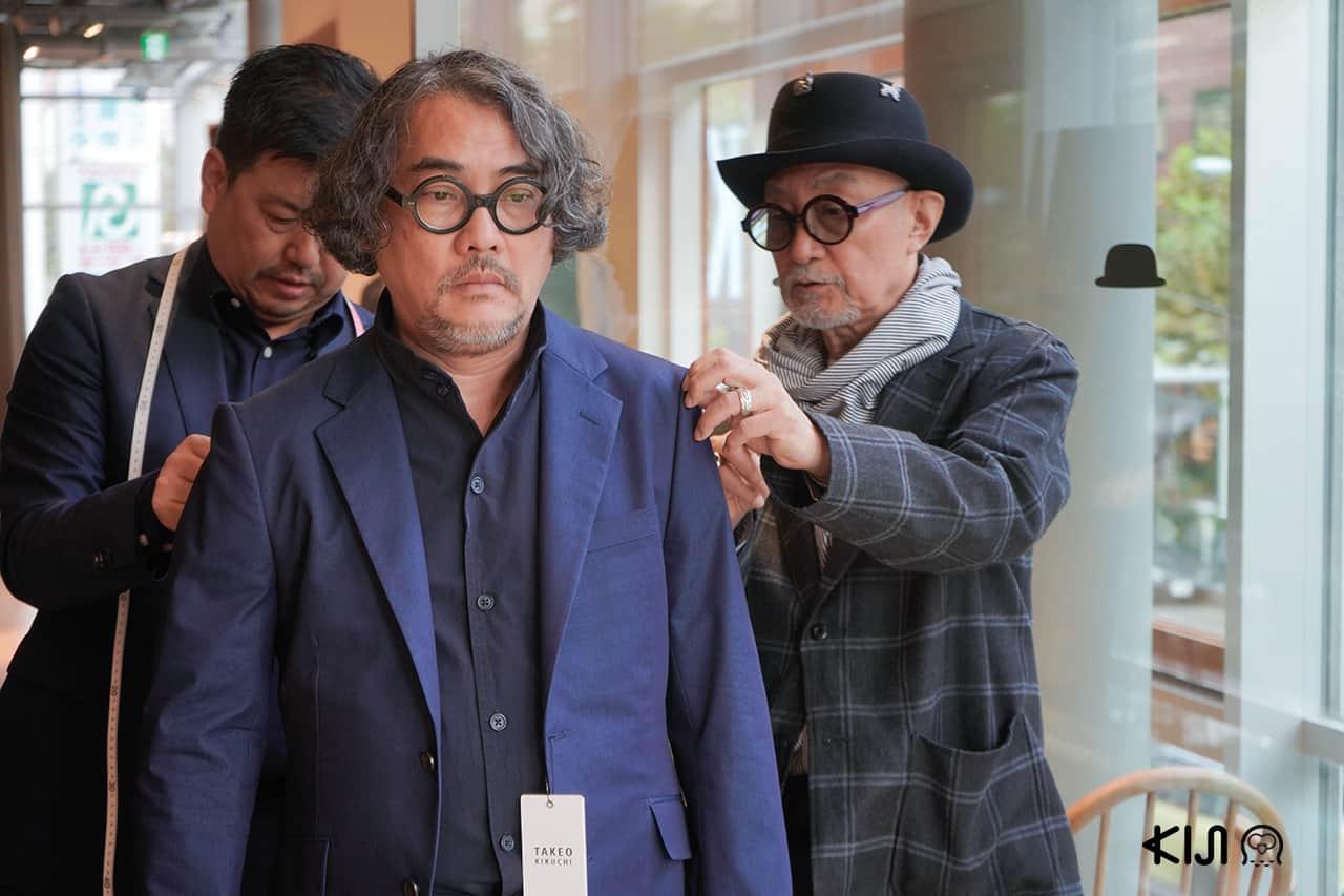 Takeo Kikuchi และ ดวงฤทธิ์ บุนนาค