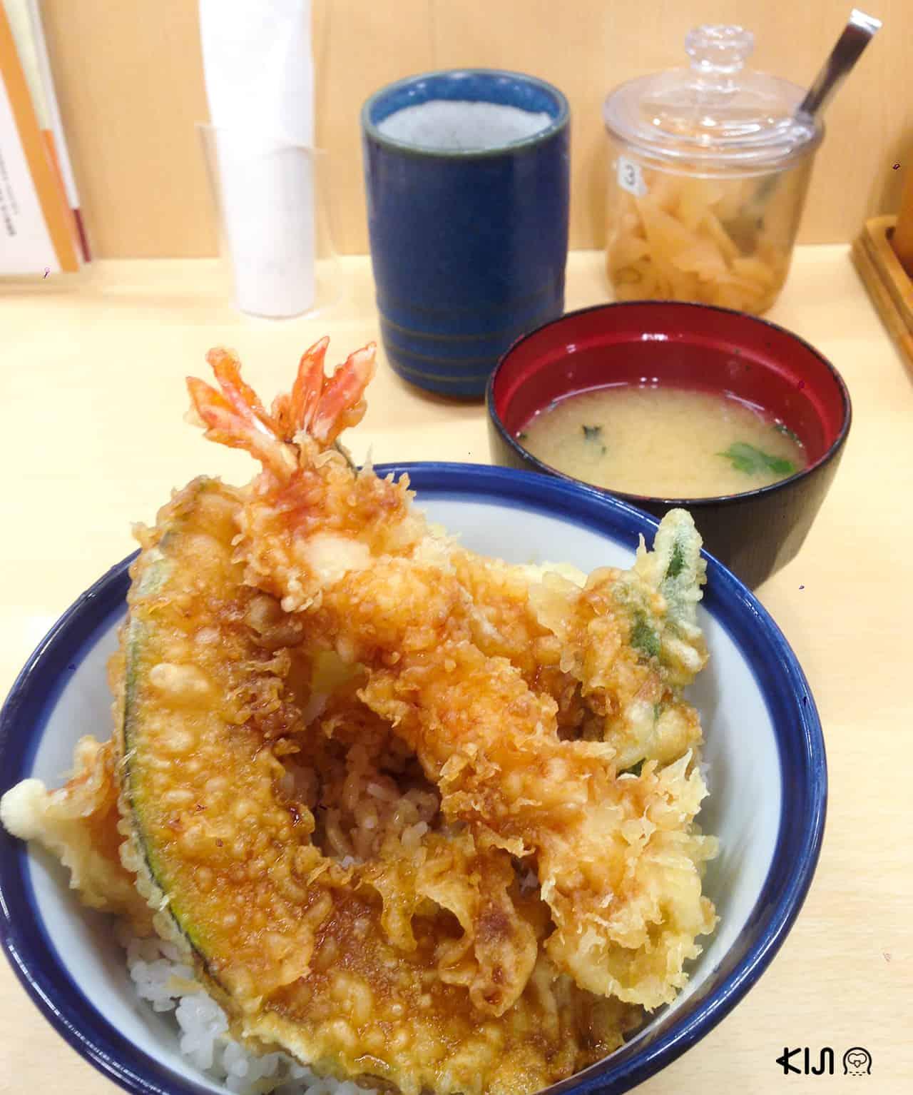 ฟาสต์ฟู้ดญี่ปุ่น : ข้าวหน้าเทมปุระ ร้าน Tenya