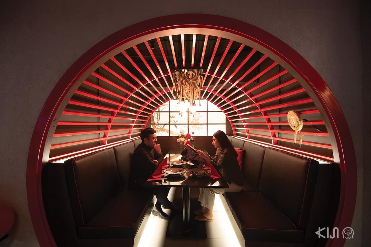 บรรยากาศภายใน ร้านอาหารญี่ปุ่น Benihana โรแมนติก สุดๆ
