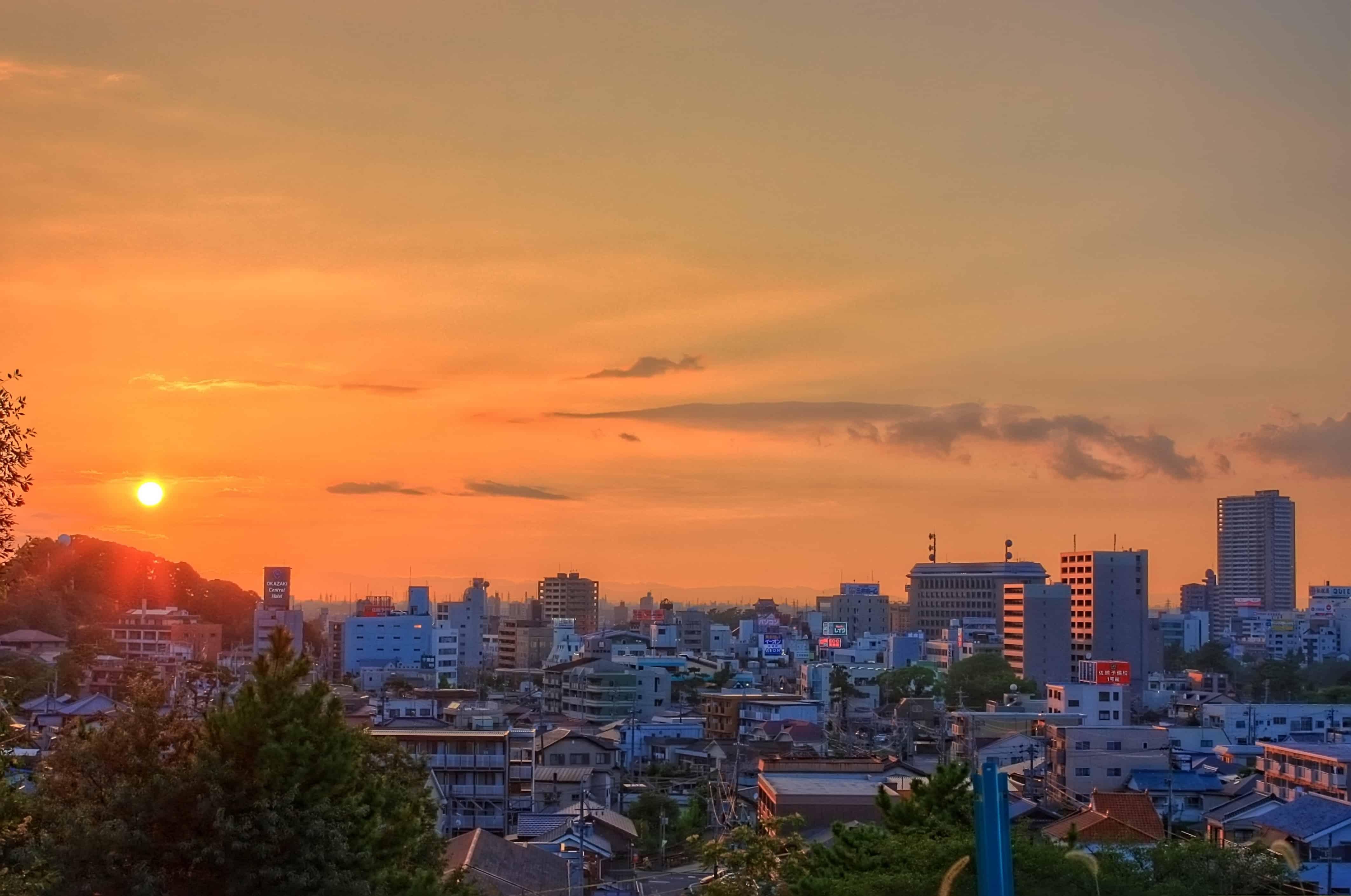 เมืองโอกาซากิ (Okazaki:岡崎市) จังหวัดไอจิ (Aichi)