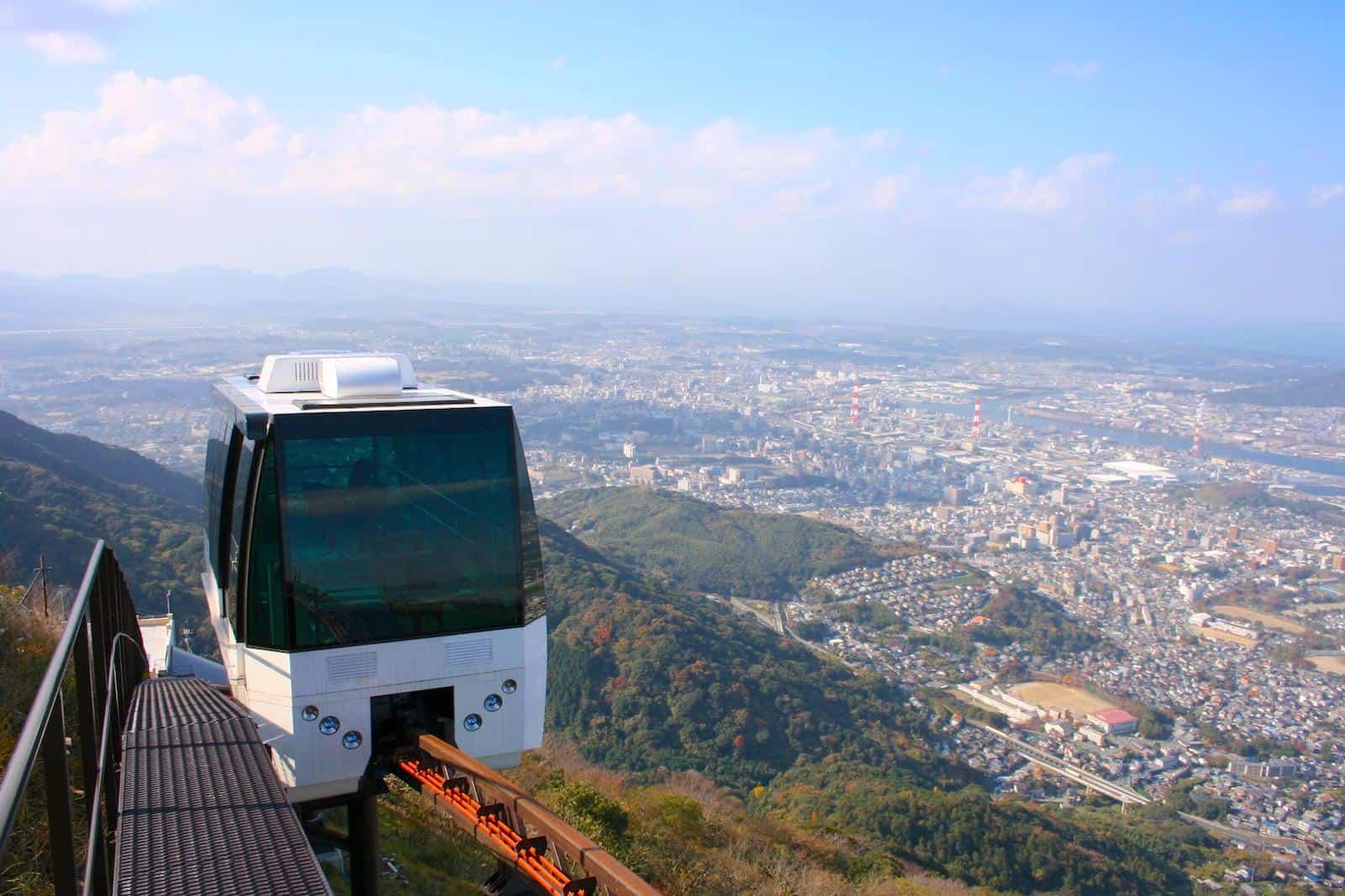 ยอดเขาซาระคุระ (Sarakurayama) ใน Kitakyushu