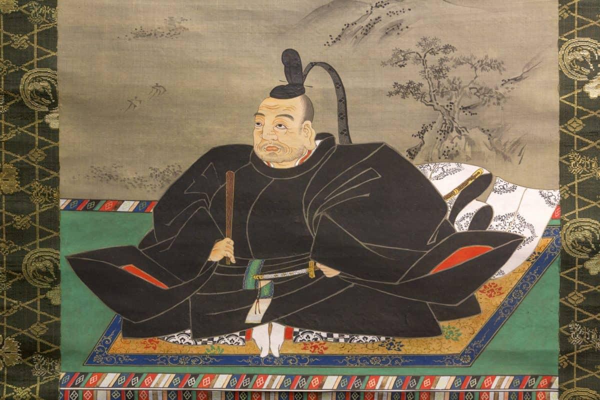 รูปวาดอิเอยาสึ โทกุงาวะ เป็นหนึ่งในบุคคลที่สำคัญที่สุดในประวัติศาสตร์ญี่ปุ่น