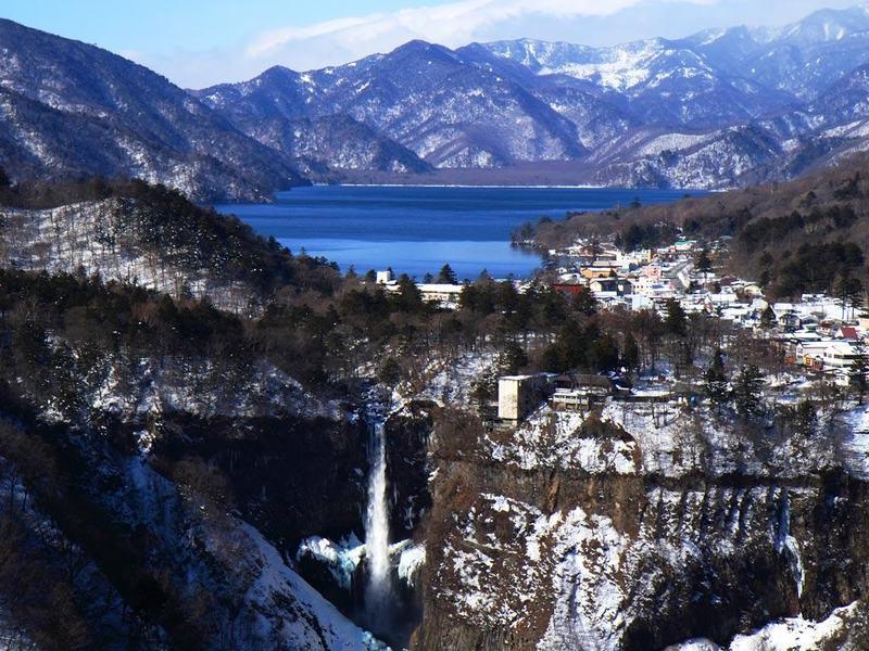 น้ำตกเคกอน, Kegon Falls, Nikko, Tochigi
