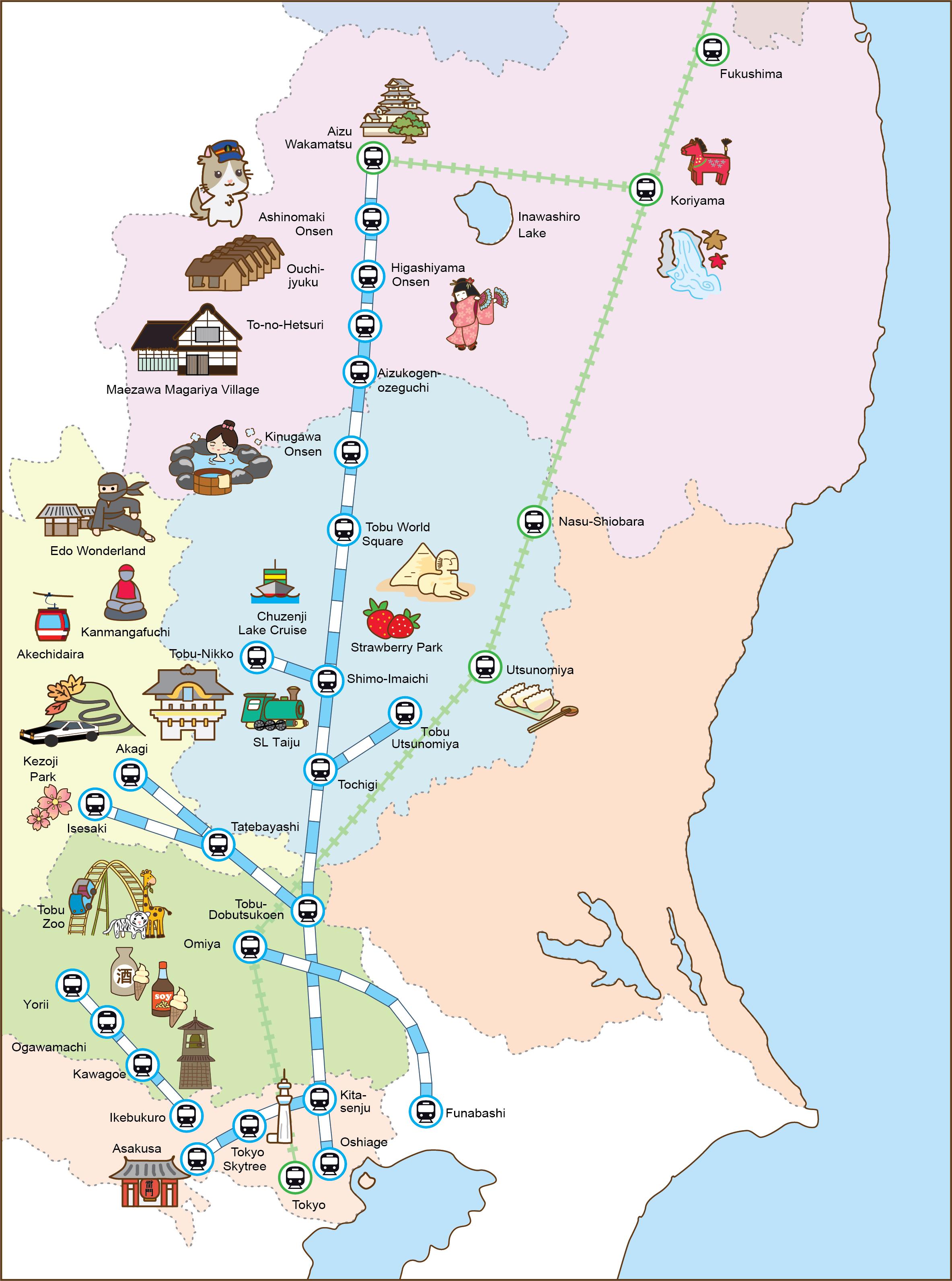 Tobu Map