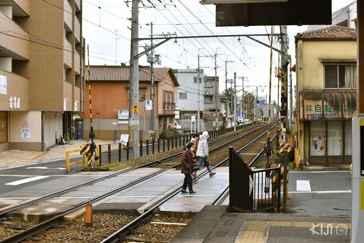 บริเวณรอบๆ สถานีอิชิโจจิ (Ichijoji Station)