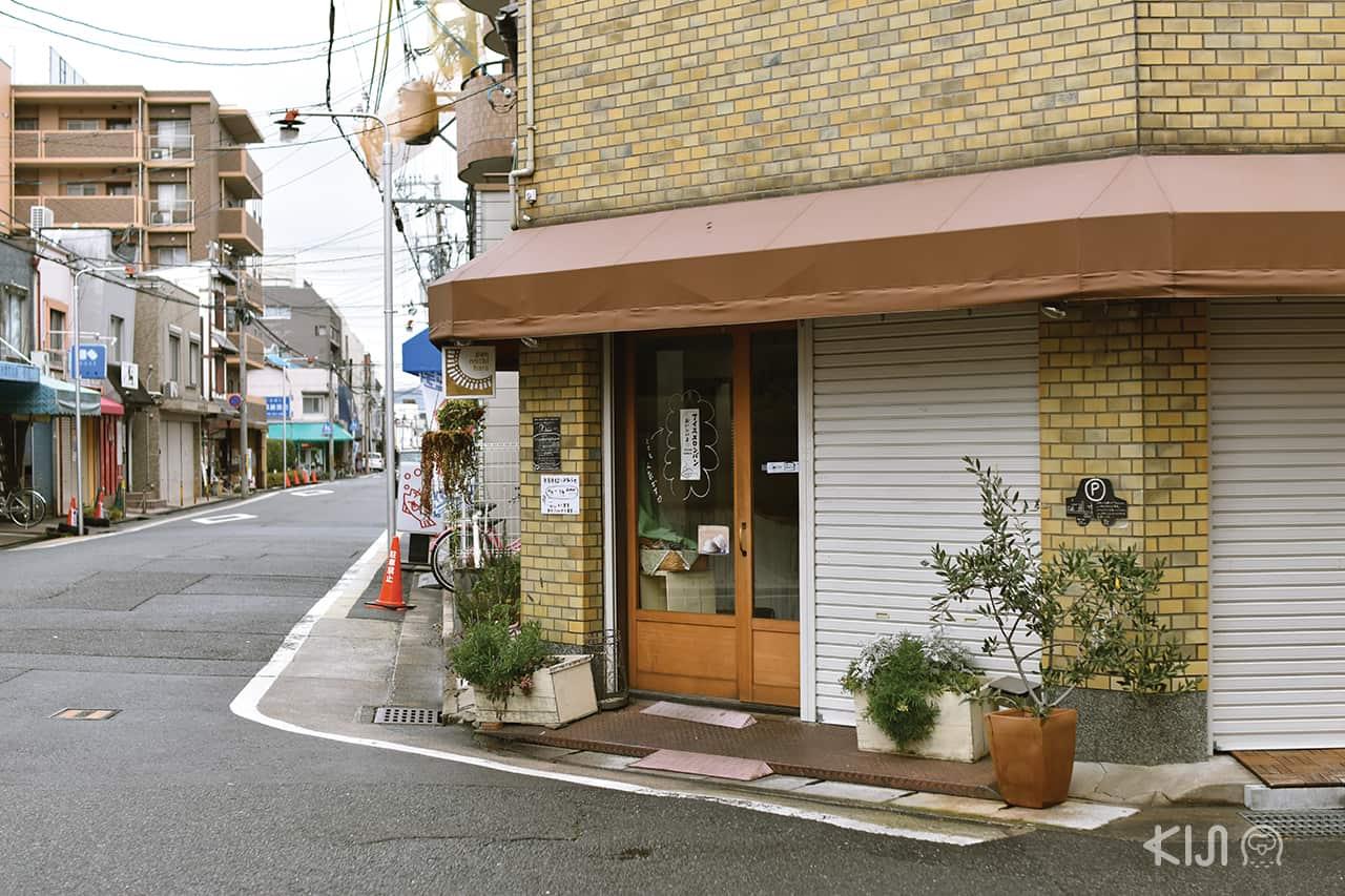 ร้านค้าในย่านอิชิโจจิ (Ichijoji)