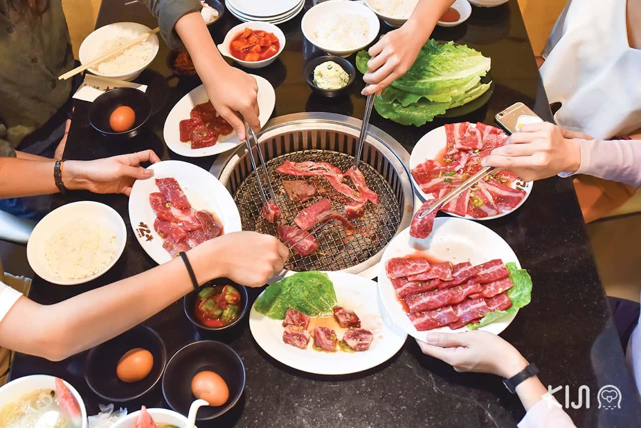 beef, Yakiniku, เนื้อ, เนื้อย่าง, ยากินิกุ, ปิ้งย่าง, Yamato