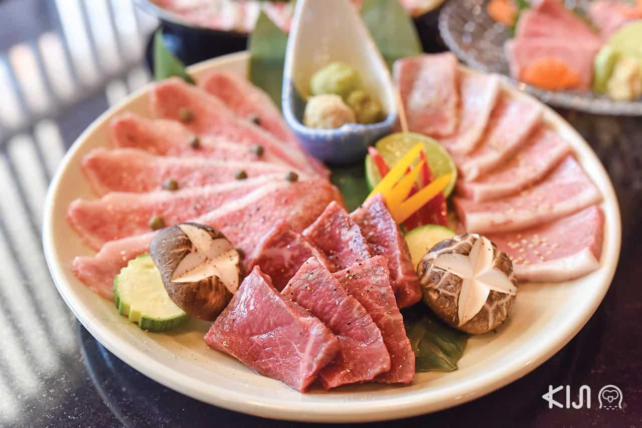 beef, Yakiniku, เนื้อ, เนื้อย่าง, ยากินิกุ, ปิ้งย่าง, Ginryu