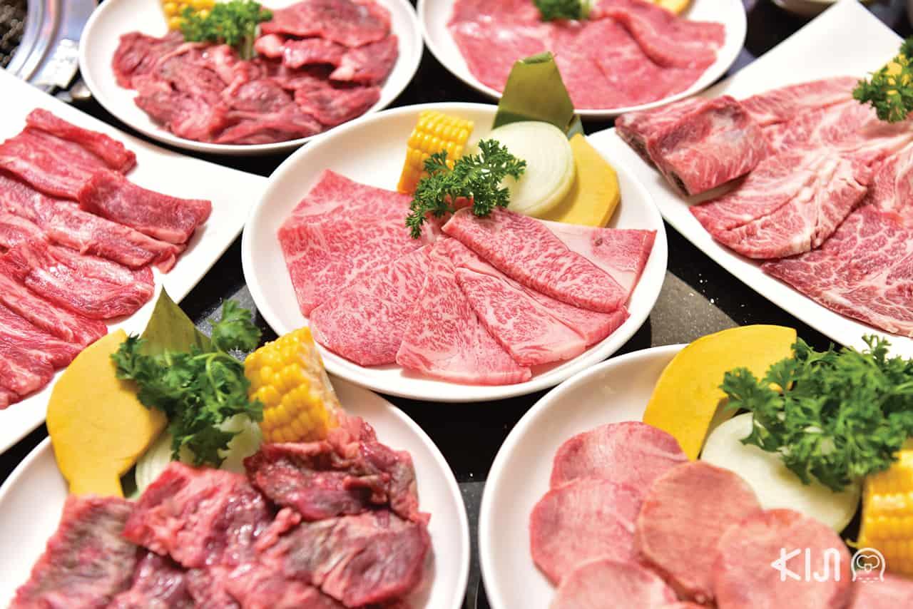 beef, Yakiniku, เนื้อ, เนื้อย่าง, ยากินิกุ, ปิ้งย่าง, San-kyu