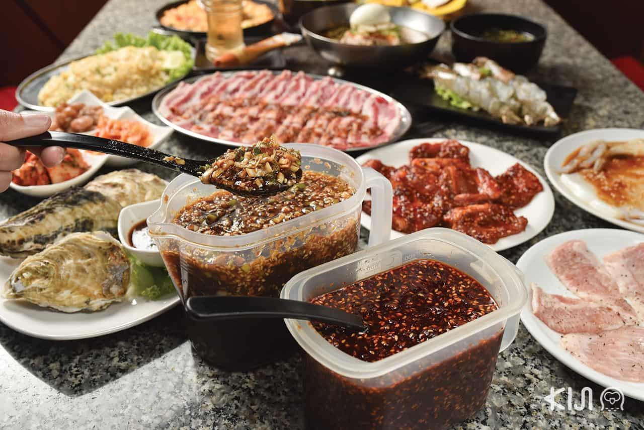 beef, Yakiniku, เนื้อ, เนื้อย่าง, ยากินิกุ, ปิ้งย่าง, Gen pu kan