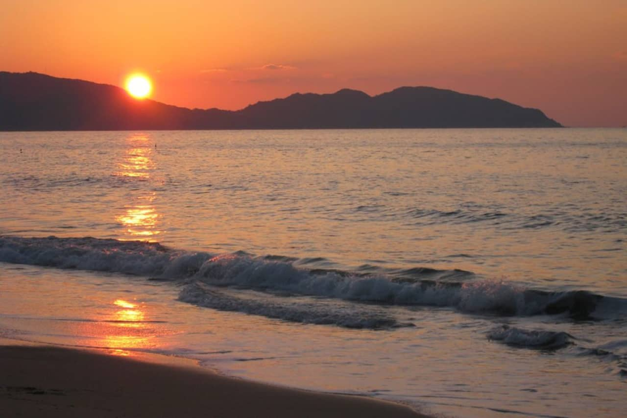 บรรยากาศบนเกาะเกาะโนโคโนะชิมะ (Nokonoshima)