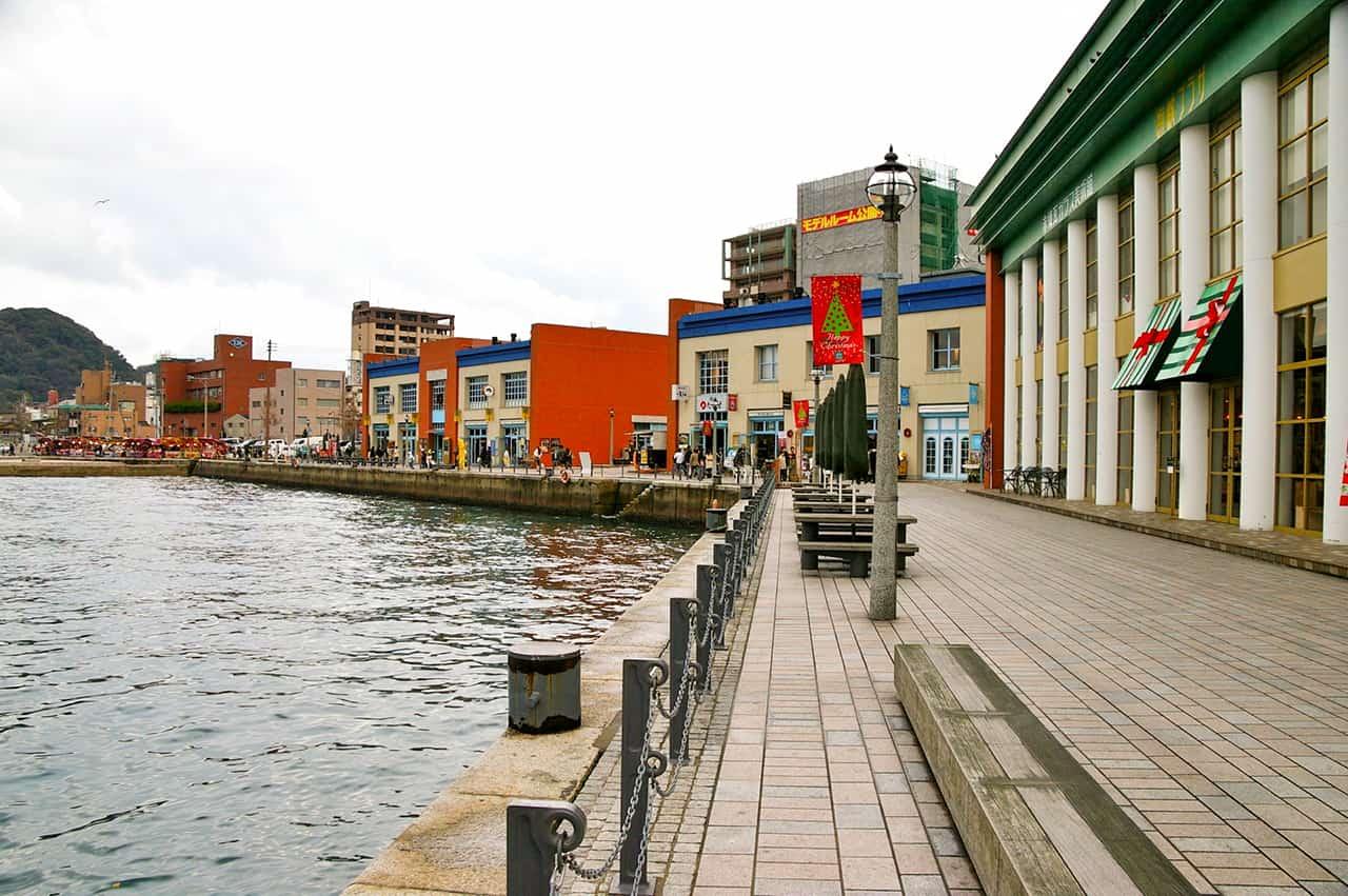 ท่าเรือโมจิ (Mojiko Port) ฟุกุโอกะ