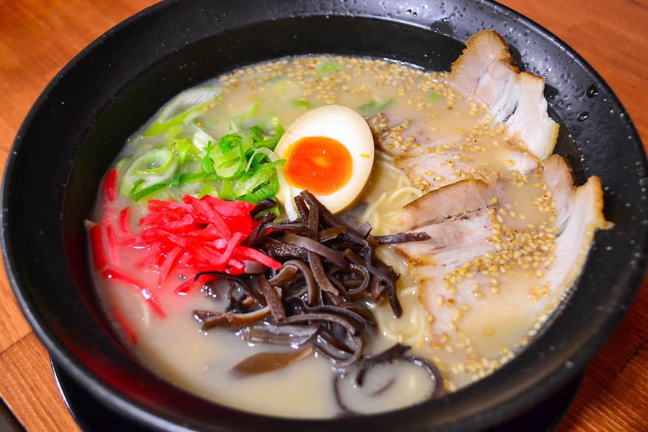 fukuoka food - ราเมนฮากาตะ (Ramen Hakata)