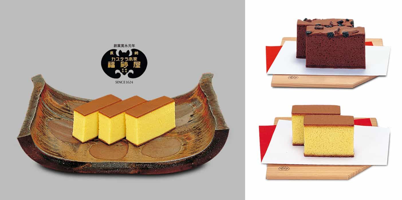 ของฝาก คิวชู ขนมคาสเทลล่า ร้านฟุกุซายะ จังหวัดนางาซากิ
