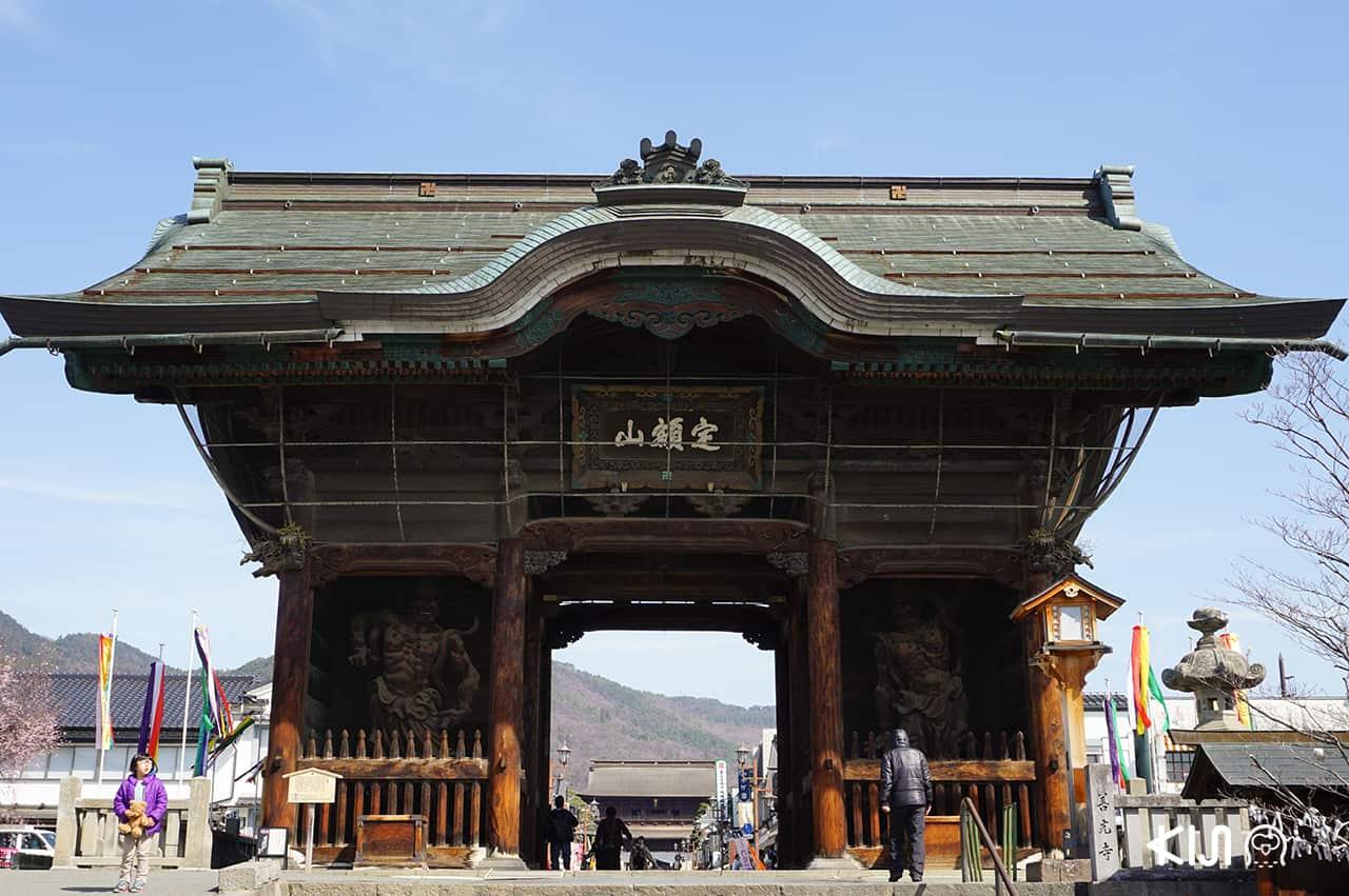 ประตู Niomon Gate Zenkoji
