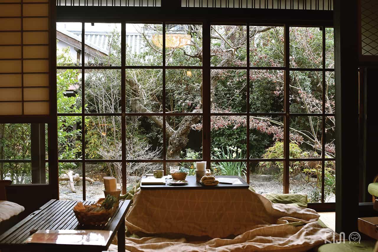 คาเฟ่น่านั่งที่เมืองนารา (Nara) และเมืองอุจิ (Uji)