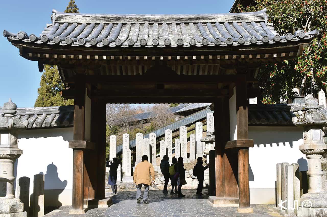 ประตูทางเข้าวัดนิกัทสึโด (Nigatsu-doTemple)
