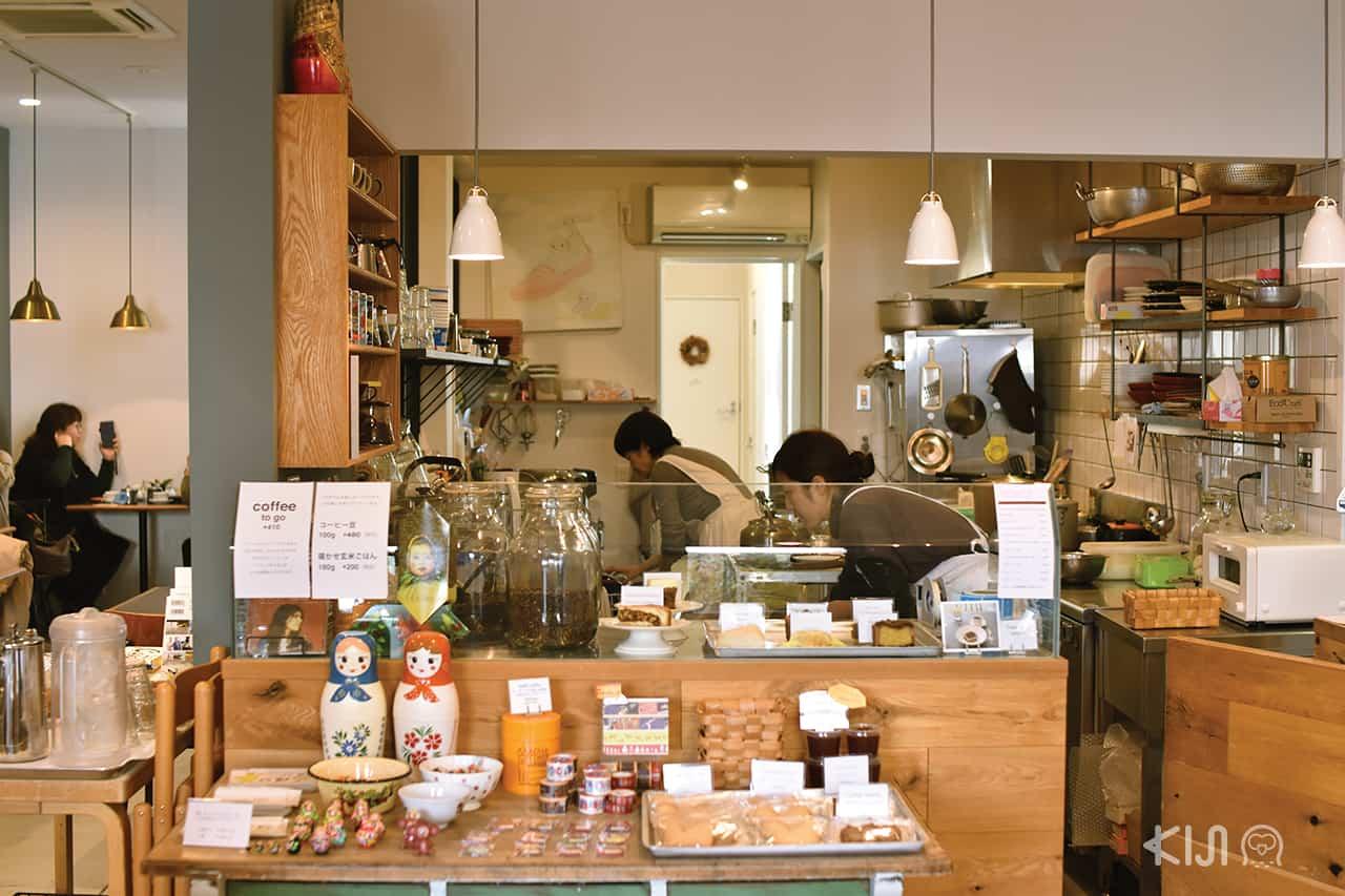 บรรยากาศภายในร้าน Bolik Coffee