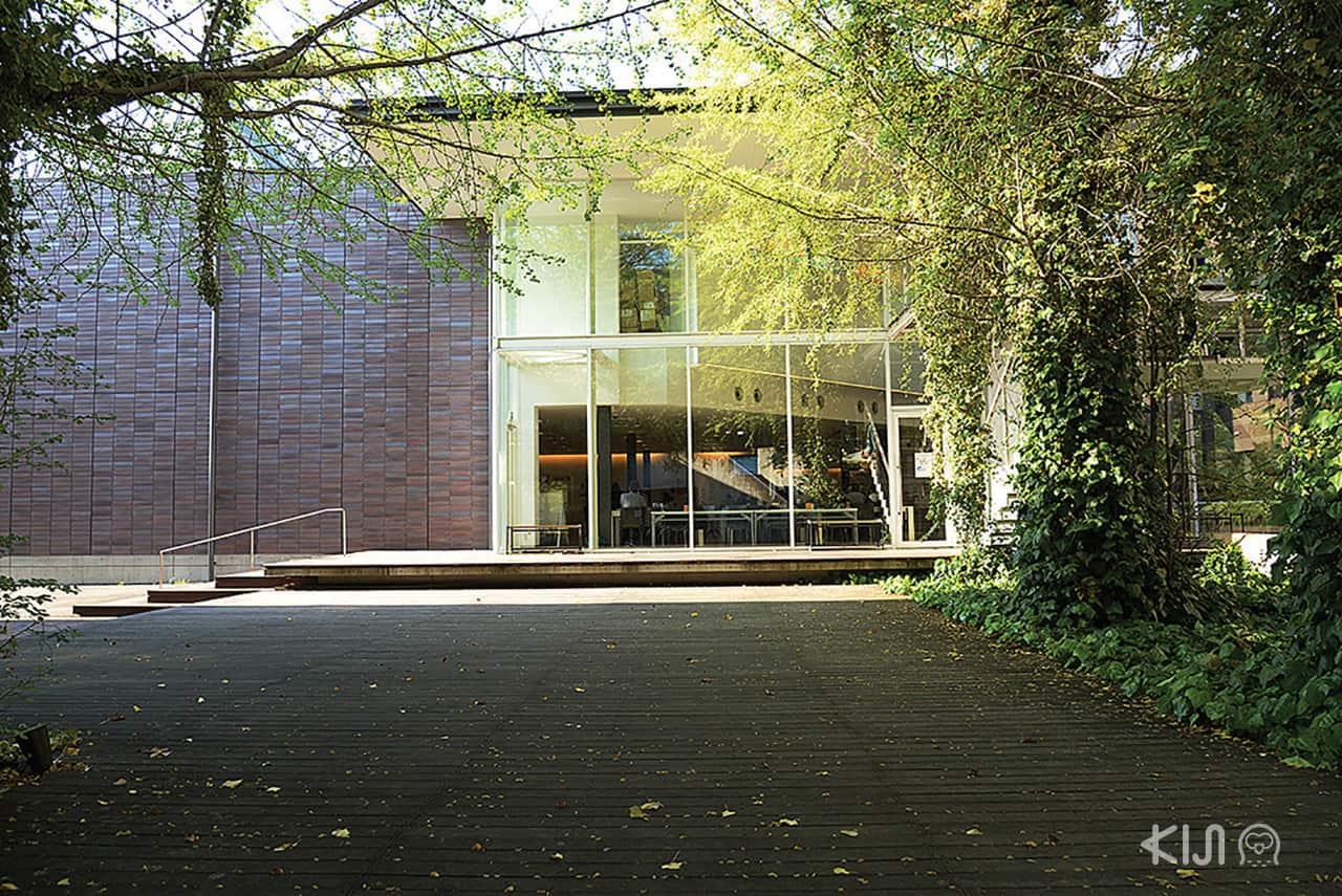 บรรยากาศของ KIT HOUSE ที่สถาบันเทคโนโลยีเกียวโต (Kyoto Institute of Technology)