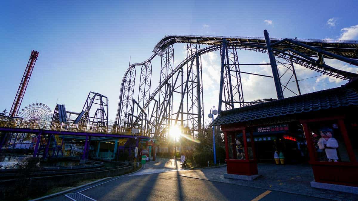สวนสนุกฟูจิคิวไฮแลนด์ (Fuji-Q Highland) จังหวัดยามานาชิ