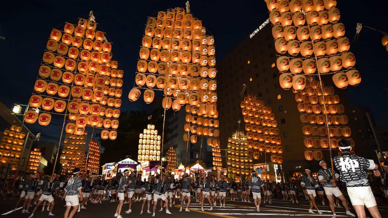 เทศกาลหน้าร้อนสุดยิ่งใหญ่แห่งโทโฮคุ