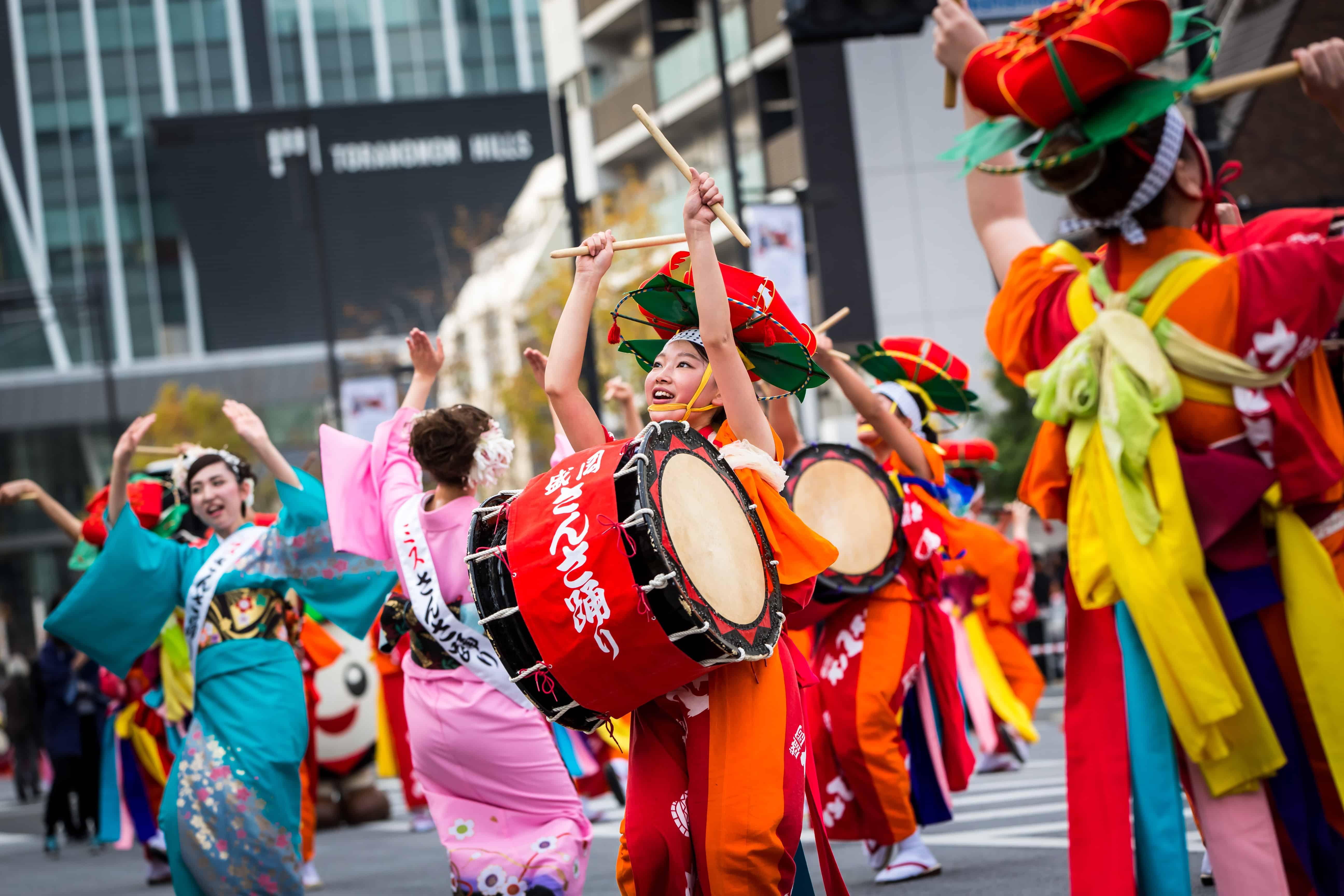 เทศกาล หน้าร้อน ภูมิภาค โทโฮคุ : Morioka Sansa Festival
