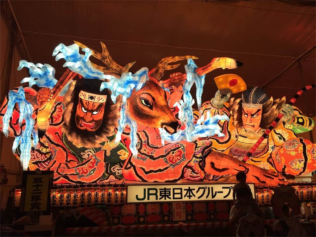 เทศกาล หน้าร้อน Aomori Nebuta Festival โทโฮคุ
