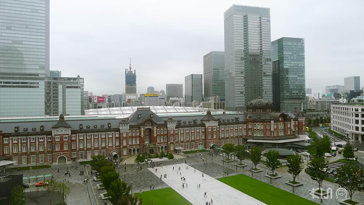 วิวที่มองจากมารุโนะอุจิ เฮ้าส์ (Marunouchi House)