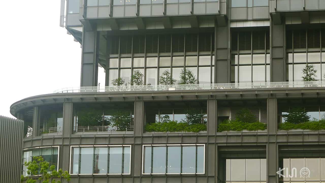 Marunouchi House ตั้งอยู่ชั้น 7 ของตึก