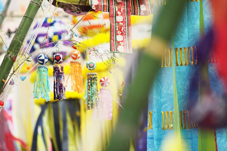 เทศกาล หน้าร้อน Tanabata Festival ภูมิภาค โทโฮคุ