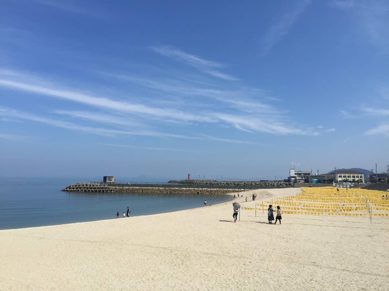 ฟุทามิ ซีไซด์ พาร์ค (Futami seaside park) จ. เอฮิเมะ (ehime)