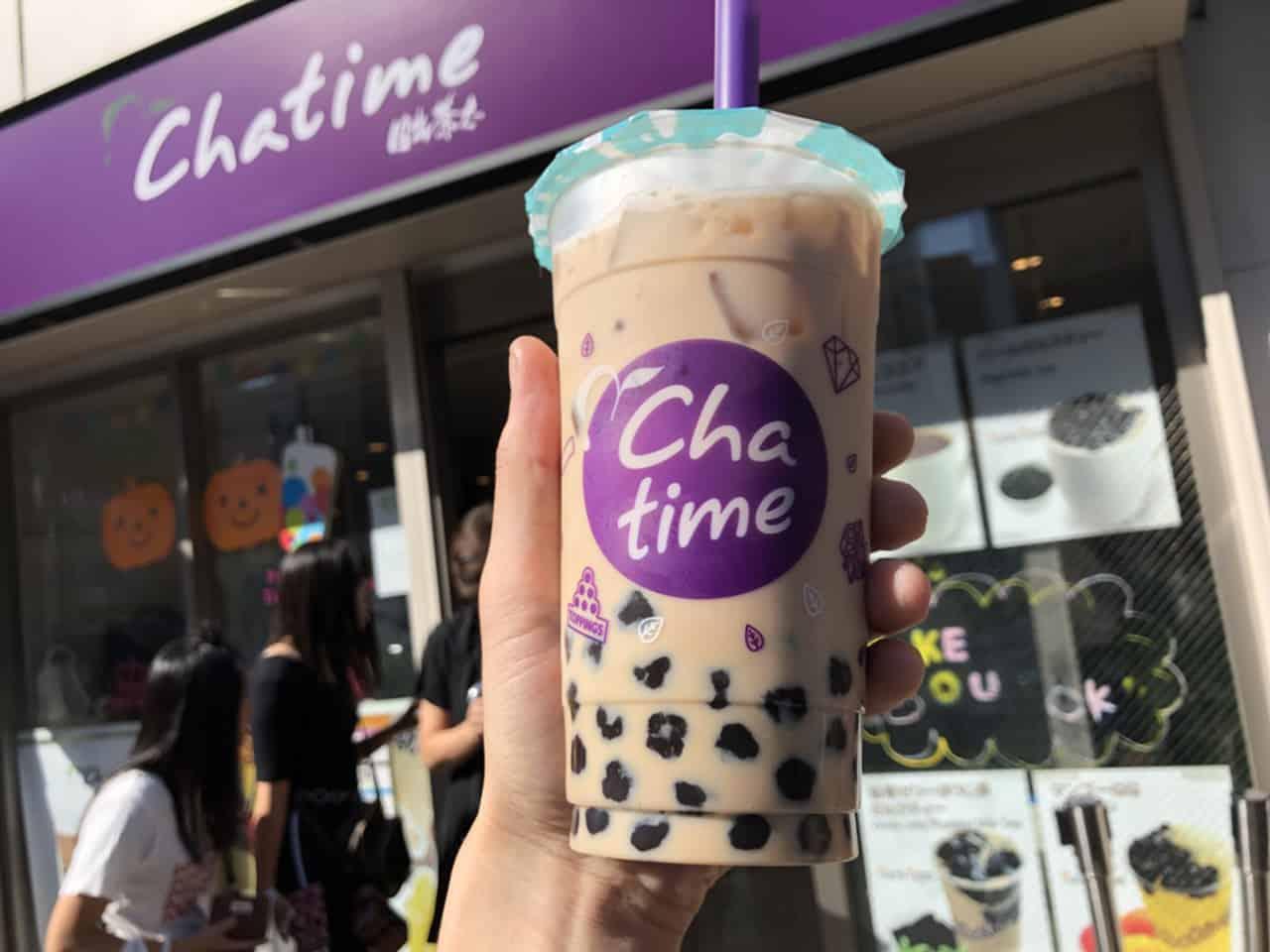 Chatime, Milk Tea, ชานมไข่มุก, Saisabo
