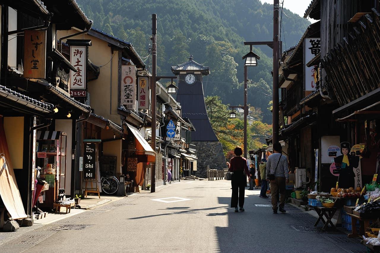 บรรยากาศของเมืองอิซุชิ (Izushi)