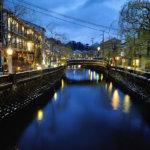 kino110_Kinosaki Onsen (canal)