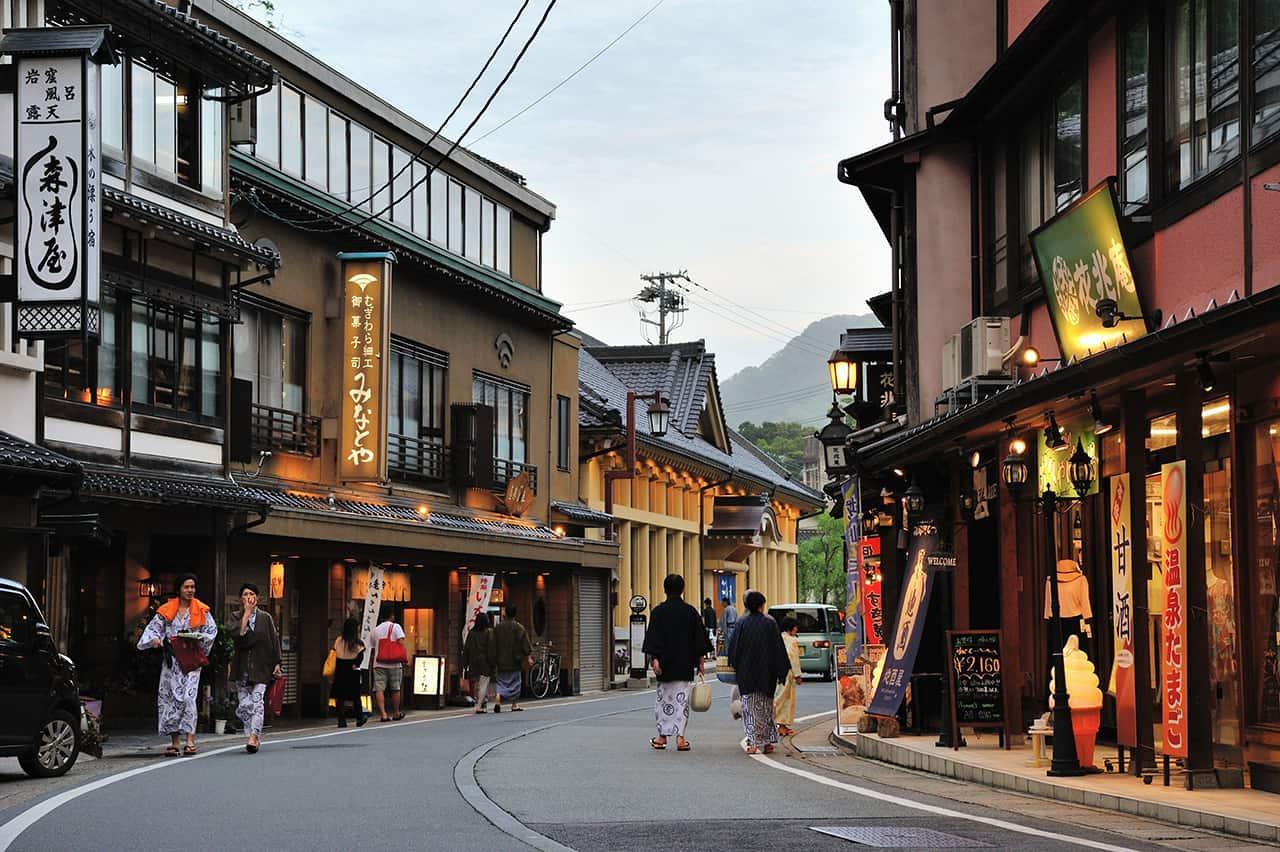 หมู่บ้านออนเซ็นคิโนะซากิ (Kinosaki)