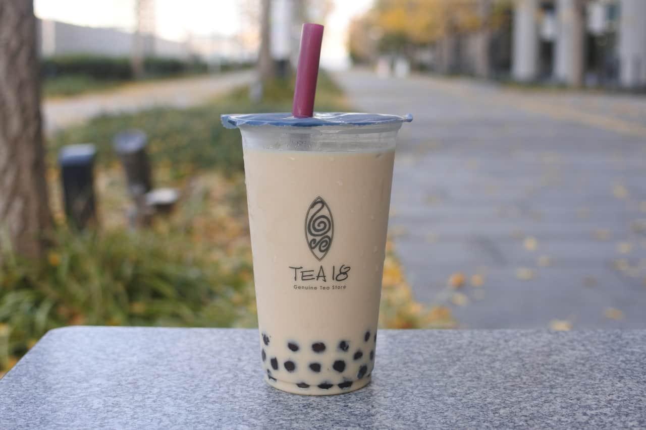 Tea18, Milk Tea, ชานมไข่มุก