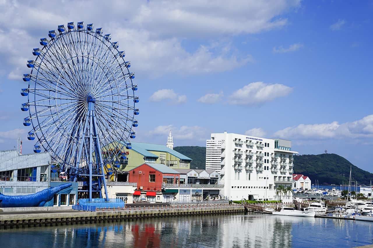 มารีนัวซิตี้ (Marinoa City) ฟุกุโอกะ (Fukuoka)