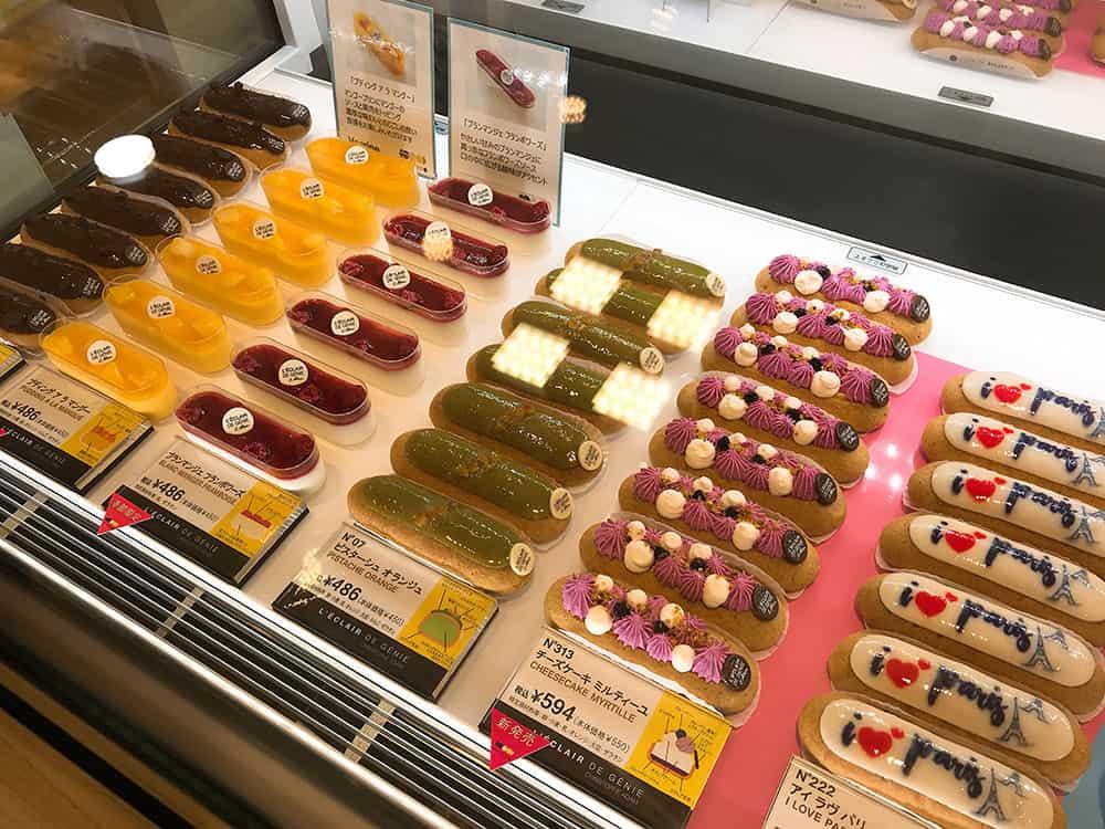 L'eclair de genie ที่ญี่ปุ่น