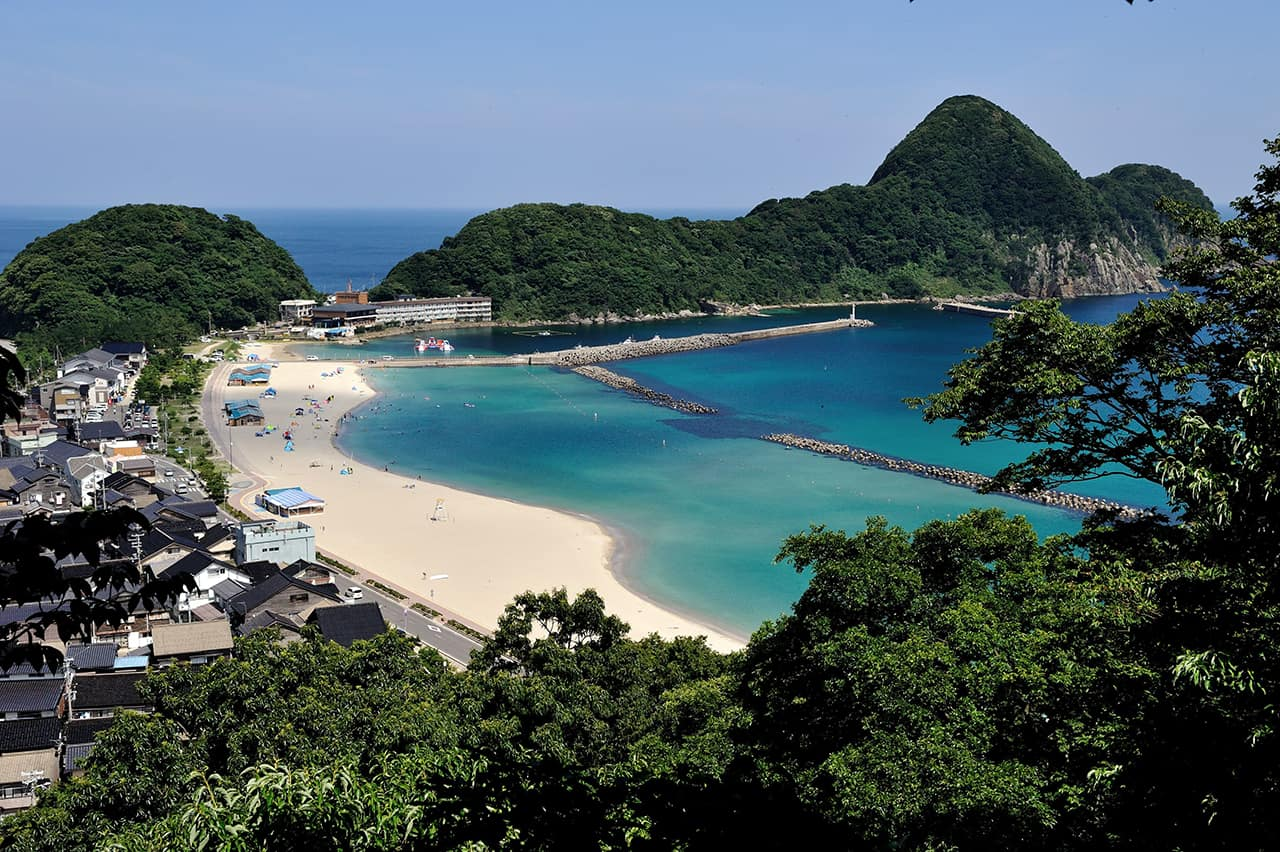 Takeno Beach in Hyogo