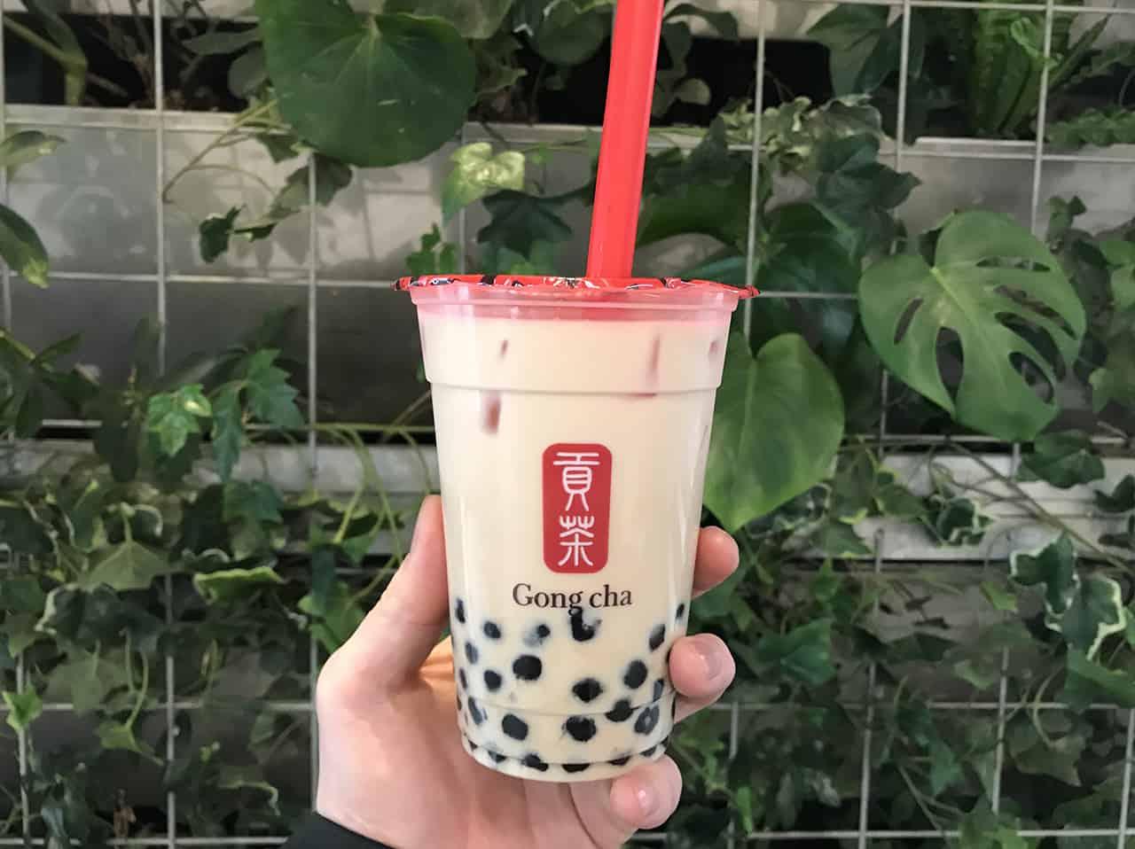 Gong Cha, Milk Tea, ชานมไข่มุก, Saisabo