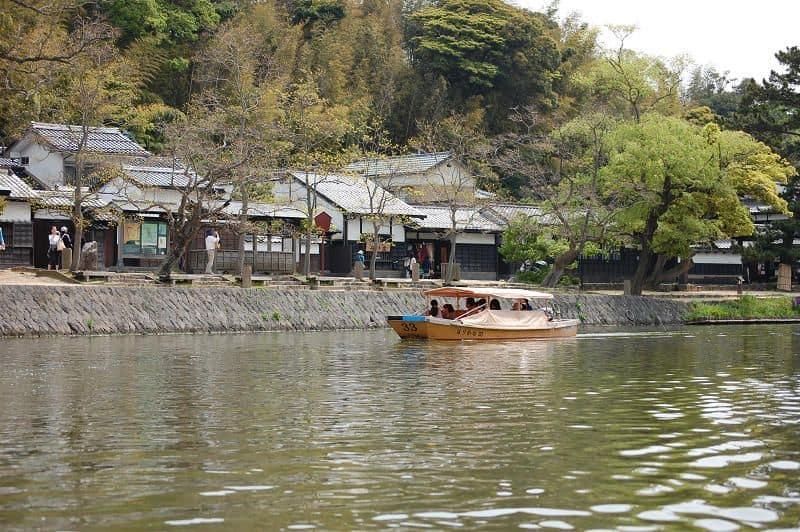 Shimanekko Tour : นั่งเรือรอบปราสาทมัตสึเอะ